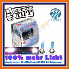 2x PowerTec H7 SUPER BLANC +100% 6000k FEU DE CROISEMENT Audi A3 8L1 8P1 A4 B6