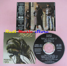 CD RAGE Perfect man 1988 west germany NOISE N 0112-3 (Xs8)lp mc dvd