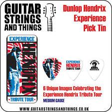 Jim Dunlop JHPT09M JIMI HENDRIX 'Experience' 6 Guitar Pick Tin