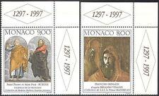 MONACO 1997 Rubens/VENANZI/Grimaldi/Bibbia/ARTE/PITTURA/ARTISTI Set 2v (n42063)