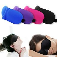 1x Eye Mask Cover Shade Blindfold Sleeping Travel Sleep Holiday Eyes 3D Airplane