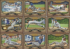 2012 Topps Gypsy Queen Sliding Stars Lot of 9 Different Cards Castro Reyes Kemp