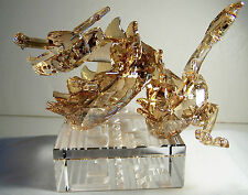 ABSOLUTELY STUNNING SWAROVSKI CRYSTAL CHINESE ZODIAC LARGE DRAGON MSRP $ 1090.00