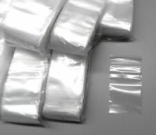 "1000 ZIPLOCK BAGS 2""x3"" CLEAR 2Mil POLY BAGS SMALL PLASTIC BAGGIES 2x3 SIZE"