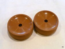 Two Tan Wheels fit vintage Kirbys from 505 through D 80 132062