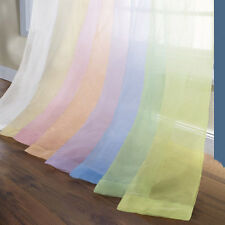 "Lilac Sheer Panel Curtains 55"" x 84"" Long  Machine Wash New SALE Reg $35.00 SEE"