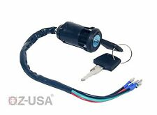 Key Ignition Switch Motorcycle Dual Sport Dirt Bike ATV Universal Super Moto MX