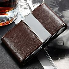 Hot Sale Quality ID Card Case Metal Business Card Multiuse Holder Double Open