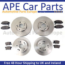 VW Transporter T5 2.0TDi 10-14 Front & Rear Brake Discs & Pads