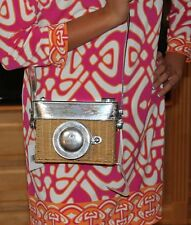 Kate Spade Grand Tour Wicker Camera Handbag NWT So Much Fun!!