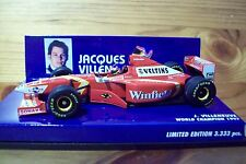 1/43 WILLIAMS 1998 LAUNCH VERSION JACQUES VILLENEUVE WINFIELD DECALS