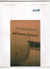ANA ANNUAL REPORT 1991 ALL NIPPON AIRWAYS JAPAN