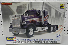 PETERBILT 359 CONVENTIONAL TRACTOR TRAILER TRUCK NOS SEALED REVELL MODEL KIT