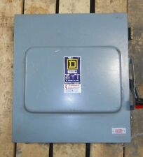 SQUARE D HU661RWK SAFETY SWITCH, NON-FUSIBLE, 30 Amp, NNB