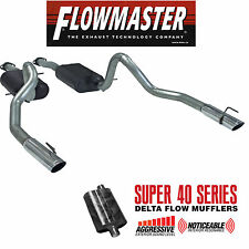 FLOWMASTER CATBACK DUAL EXHAUST 99-04 FORD MUSTANG GT V8 4.6L AGGRESSIVE SOUND