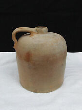 Antique Clay Pottery Beehive Moonshine Whiskey Jug 9""