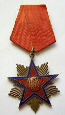 f730 ROMANIA COMMUNIST Order Star of Romania RPR 1st type 1947 – 5th class