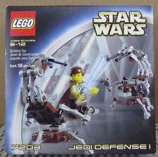 LEGO 7203 Star Wars Jedi Defense I  sw069 Obi-Wan Kenobi sw063 Destroyer Droids