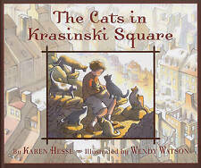 The CATS in KRASINSKI SQUARE by Karen Hesse         FREE shipping  9781845079055