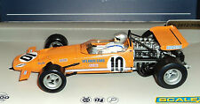 SCALEXTRIC C3545A MCLAREN M7C LIMITED EDITION BRUCE MCLAREN #10  1/32 SLOT CAR