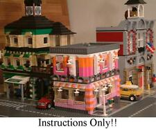 GET 100+ CUSTOM LEGO INSTRUCTIONS like MODULAR DONUT SHOP for 10185 Green Grocer