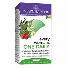 New Chapter Organics Every Woman's One Daily Multi Vitamin, Tablets 72 ea