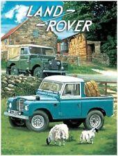Land Rover,Off Road 4x4 Pickup Klassisch/Oldtimer,Mittleres Metall/Zinn-zeichen