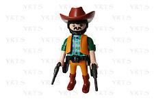 YRTS 6278 Playmobil Vaquero con 2 pistolas Cowboy Western Oeste Indios ¡New!