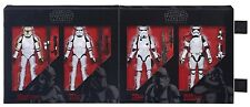 "Star Wars Black Series 6"" Imperial forces STORMTROOPER PACK Amazon Exclusive AU"