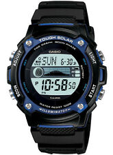 Casio WS210H-1A Men's Solar Moon Tide Graph Alarm Chronograph Digital Watch