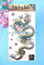 Asian Chinese dragon temporary tattoo sticker fake tattoos stickers