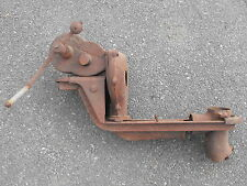 Old VTG Champion Blower & Forged Co Cast Iron Hand Crank Blacksmith Tool Device