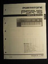 Yamaha psr sq16 ebay for Yamaha keyboard parts