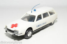 INJECTAPLASTIC SPAIN CITROEN CX BREAK AMBULANCE NEAR MINT CONDITION RARE SELTEN