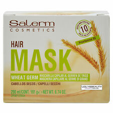 Salerm Capillary Mask Wheat Germ 200 ml / 191 g / 6.74 Oz for Dry Hair