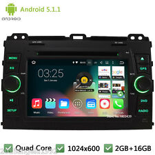 Quad core Android 5.1 Car DVD Player For Toyota Land Cruiser Prado 120 2002-2009