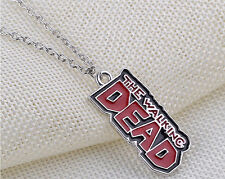 The Walking Dead Vintage Enamel Pendant Necklace