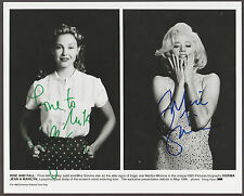 ASHLEY JUDD & MIRA SORVINO Signed 8x10 MARILYN MONROE Photo AUTOGRAPH w COA AUTO