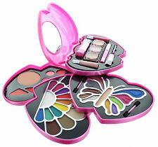 Perfect Gift: ETA Pink Double Heart Glamour Girl Makeup Color Kit BR