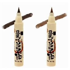 Dark Brown Waterproof Eye Brow Eyeliner Eyebrow Pen Pencil Makeup Long Lasting