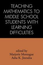 Teaching Mathematics to Middle School Students with Learning Difficult-ExLibrary