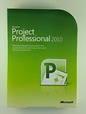 MS Project 2010 PROFESSIONAL PRO DVD 32/64 bit h30-02670 INGLESE ENGLISH NUOVO