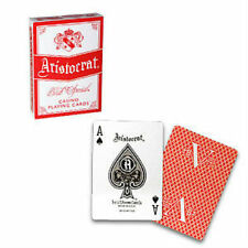Aristocrat V Deck - Red - Playing Cards - Poker Sized - Magic Tricks - New