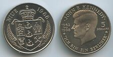 £0088 Niue 5 Dollars 1988 KM#17 ICH BIN EIN BERLINER John F.Kennedy in Germany