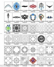 DECOR +4,000 BROTHER EMBROIDERY MACHINE DESIGNS COLLECTION ON CD DECOR PES FILES