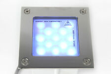 Recessed Blue Stainless Steel LED Floor Roof Wall Decking Down Up Light IP67