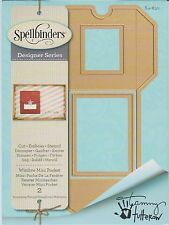 Spellbinders Shapeabilities Dies Window Mini Pocket Umschlag/ Tasche S4-630