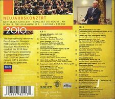 Georges Prete Vienna Philharmonic New Year's Concert 2010 CD 2-disc NEW Strauss
