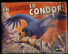 1974 REVELL Endangered Animals Of The World CONDOR Model Kit FACTORY SEALED