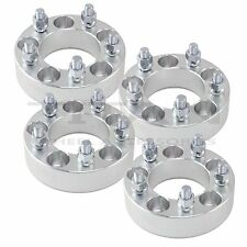 "(4) 1.5"" 5x4.5 To 5 x 4.5 Wheel Spacers Thick Adapters 1/2"" Studs 5lug Four"